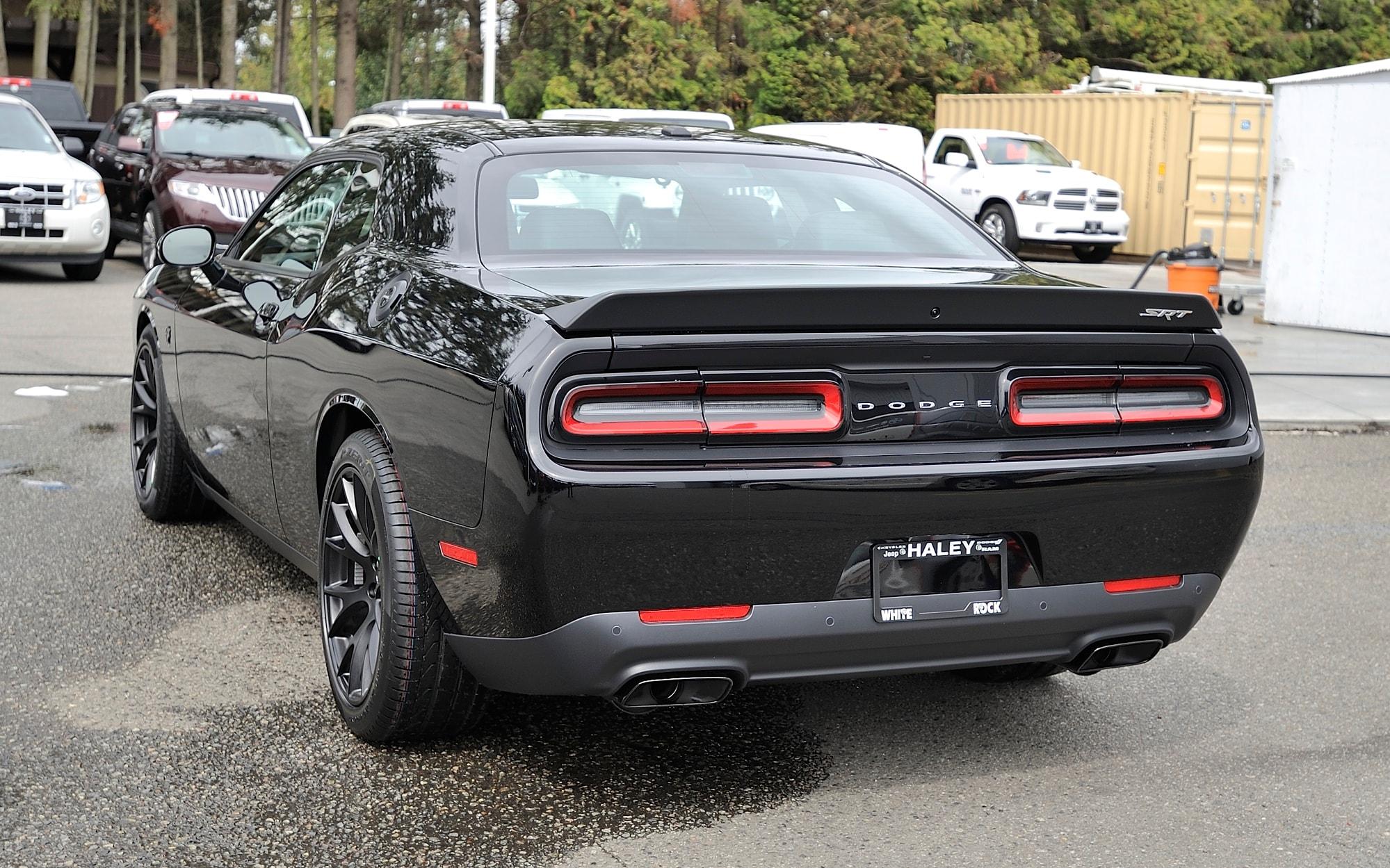 New 2016 Dodge Challenger Srt Hellcat For Sale In Surrey