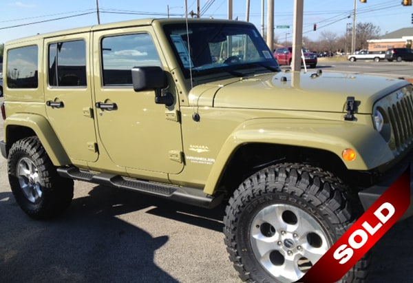 Custome Wrangler Comando Green