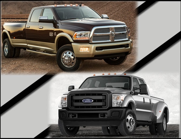 Dodge Ram 3500 vs Ford F-450
