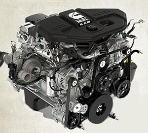 Ram 3500�6.7L Cummins Diesel Engine