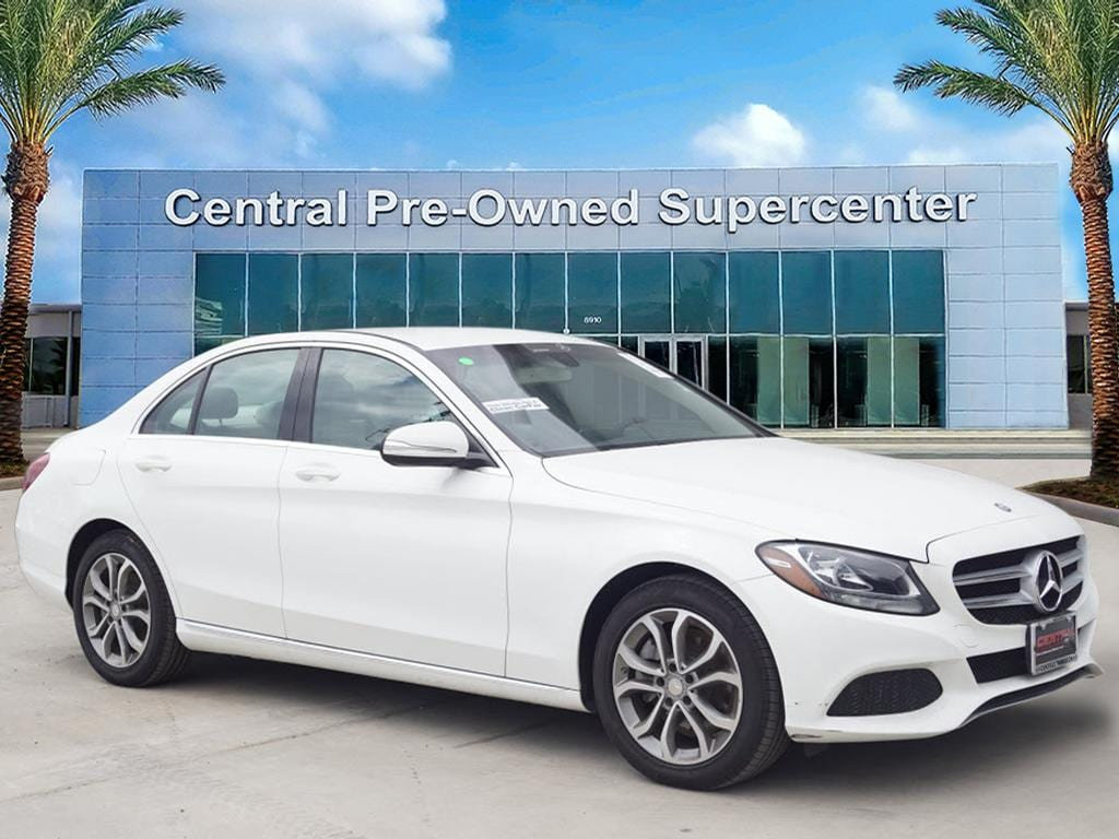 2015 Mercedes C-Class C 300 Central Houston Nissan has a wide selection of exceptional pre-owned ve