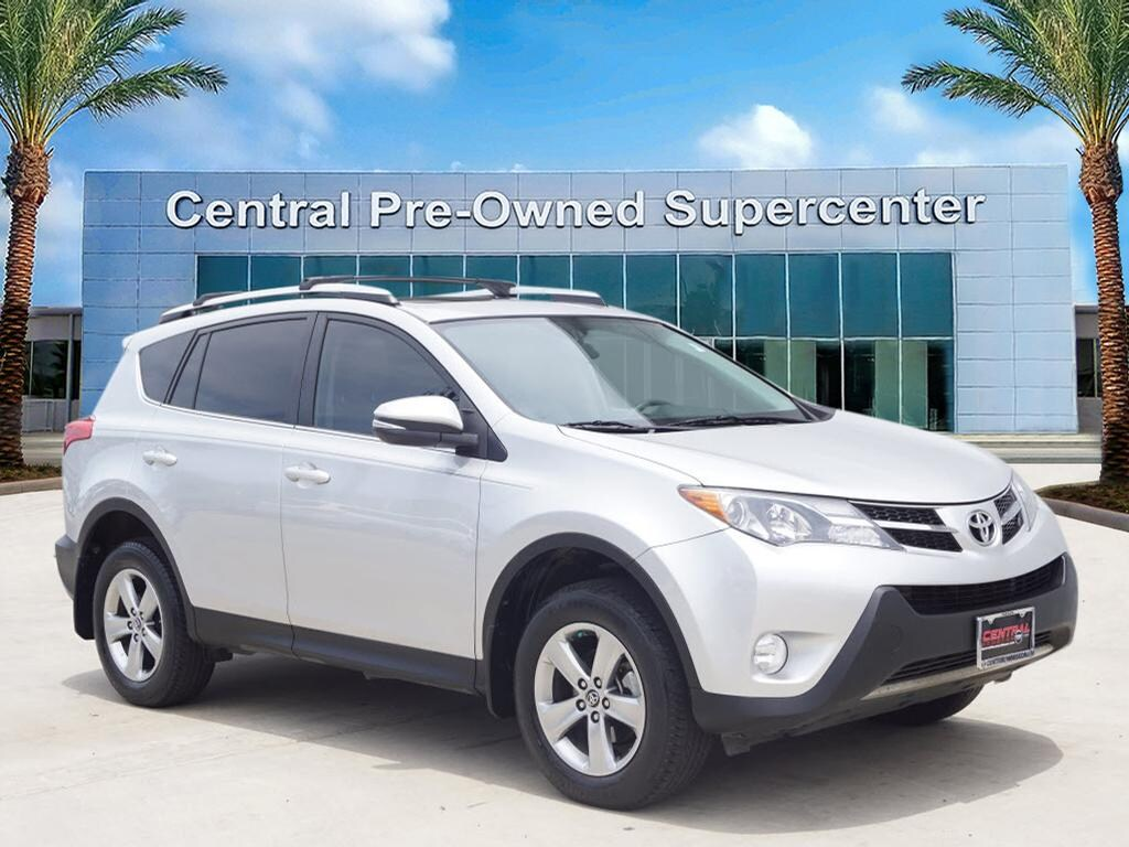2015 Toyota RAV4 XLE Thank you for your interest in one of Central Houston Nissans online offering