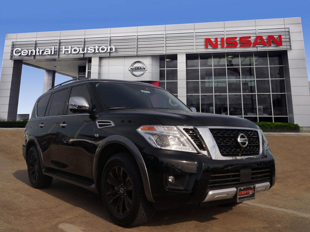 2018 Nissan Armada Platinum Options X01 CAPTAIN SEAT PACKAGE C03 50 STATE EMISSIONS N92 I