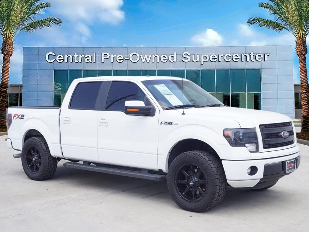 2014 Ford F-150 FX2 This outstanding example of a 2014 Ford F-150 FX2 is offered by Central Housto