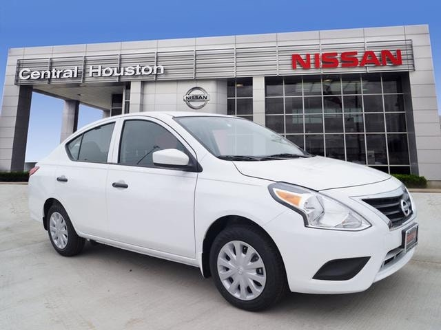 2018 Nissan Versa S Plus Options C03 50 STATE EMISSIONS B93 CHROME TRUNK ACCENT PIO B92