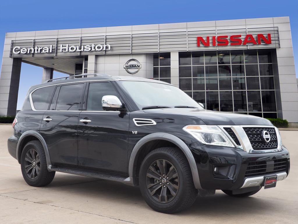2018 Nissan Armada Platinum Options C03 50 STATE EMISSIONS B92 ROOF RAIL CROSS BARS PIO -