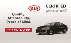 Kia Certified Used & Pre-Owned Dealer