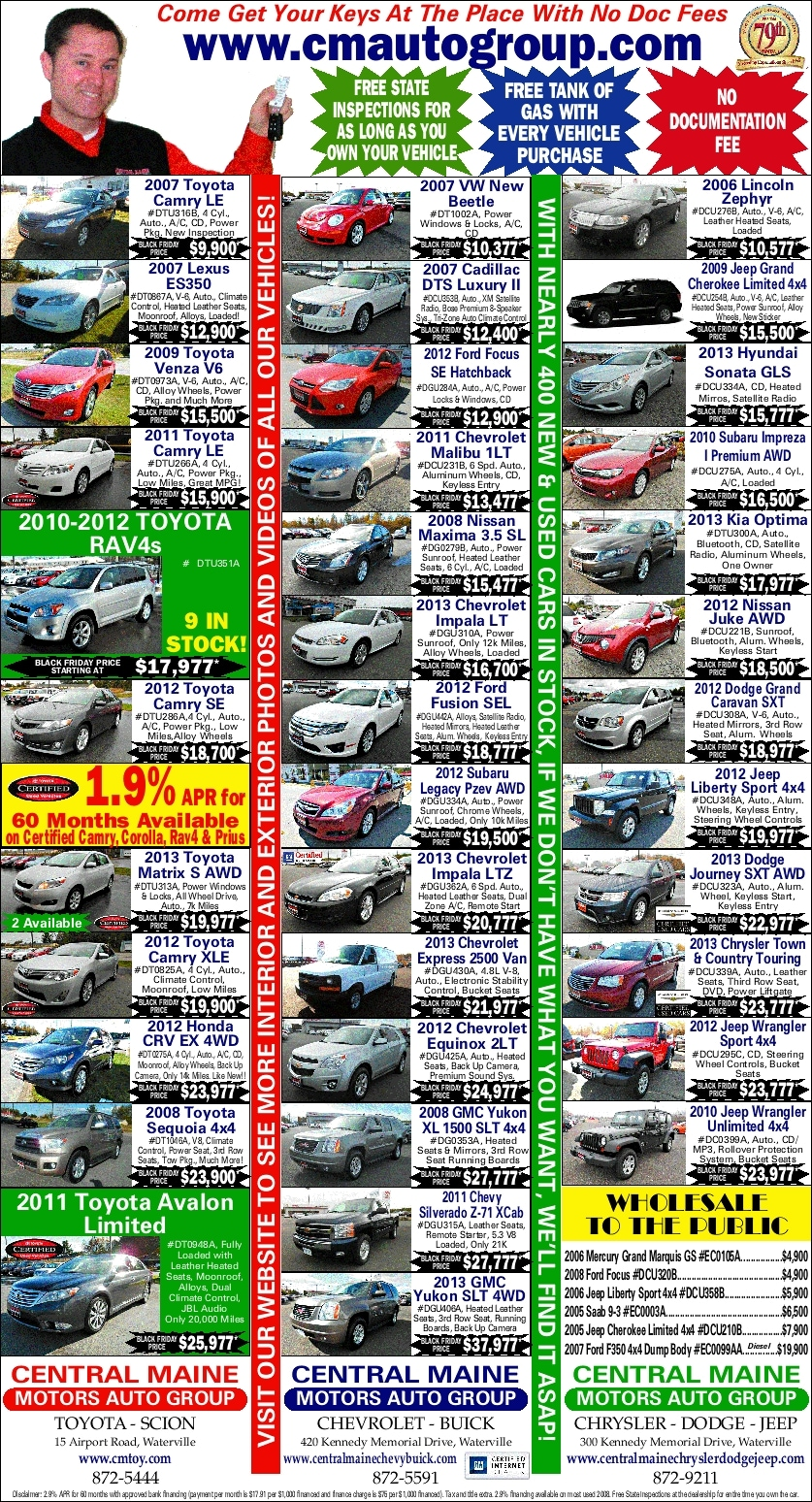 Used car dealers maine buy here pay here