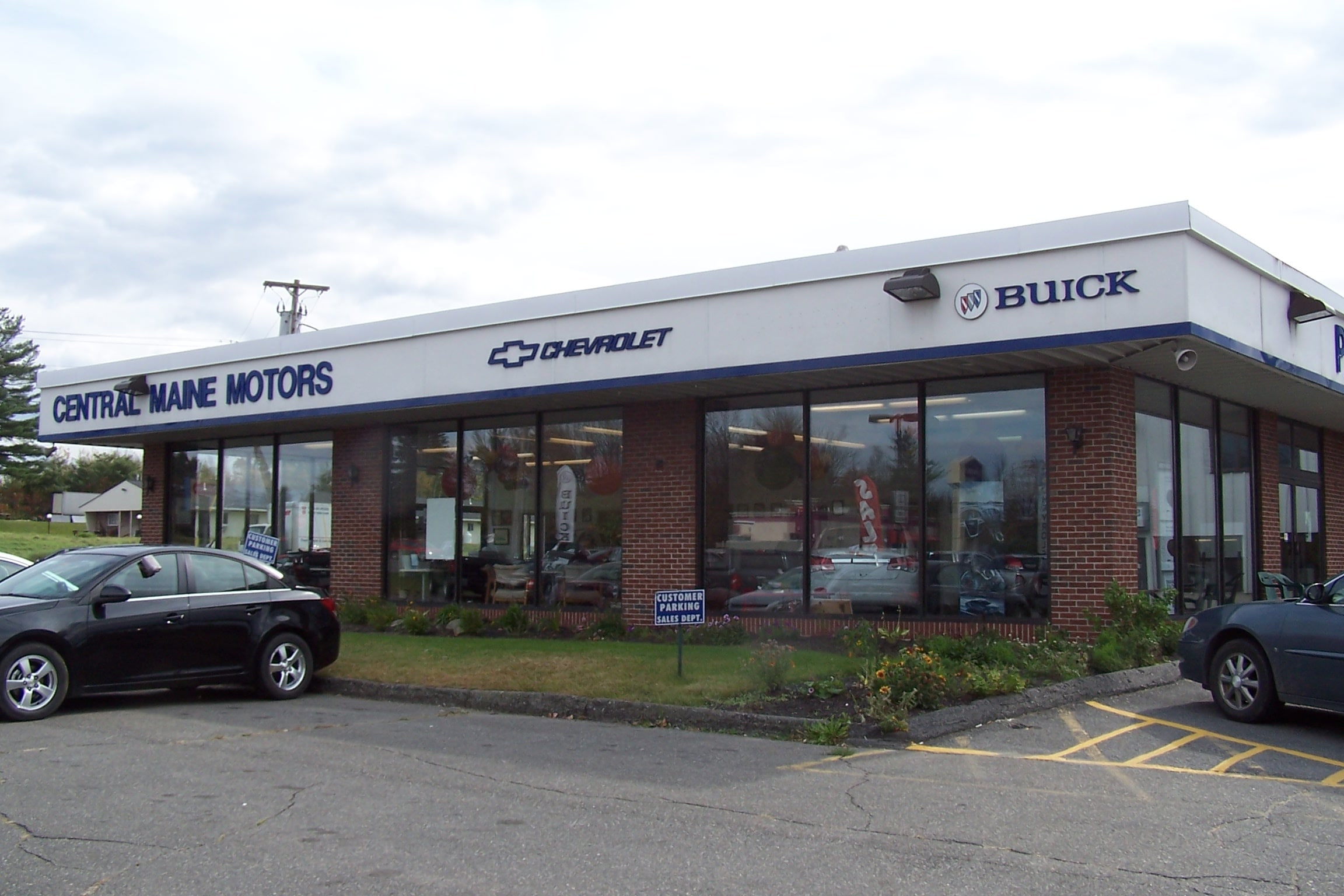 About central maine chevy buick me chevy dealership for Central maine motors chevy