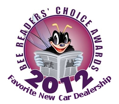 Bee Readers' Choice Awards 2012 Favorite New Car Dealership is Central Valley VW, your Modesto to Central Valley VW Dealer