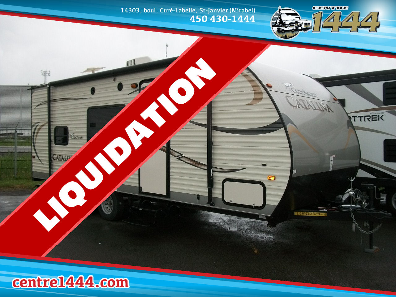 2015 CATALINA 213BH - 7 PERSONNES