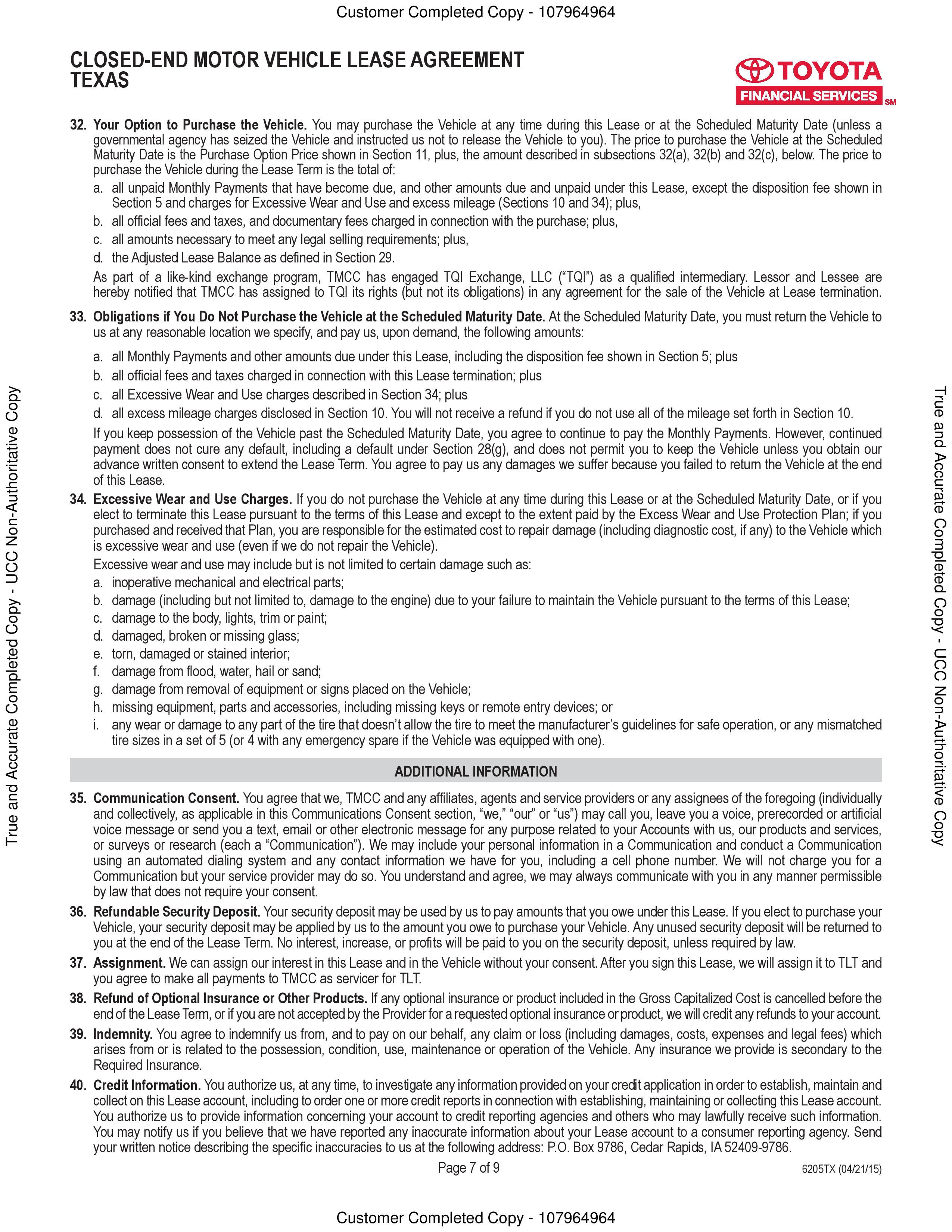 business lease termination letter