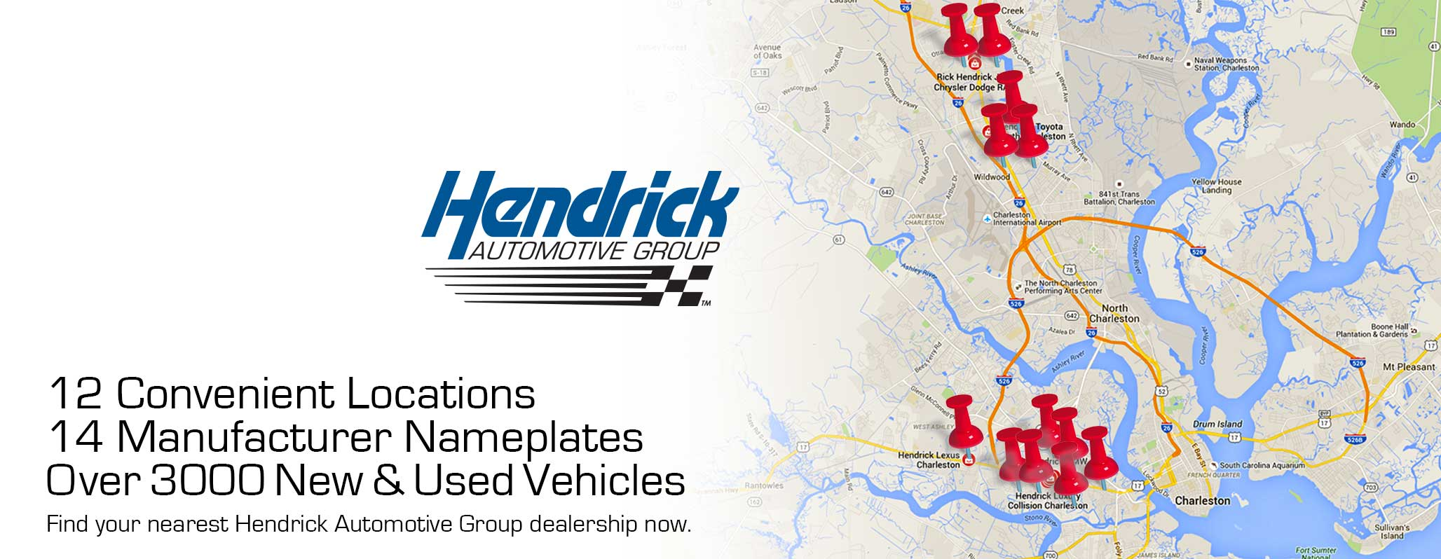 Hendrick Charleston New Fiat Lexus Mini Bmw Hyundai Dodge Jeep Collision Chevrolet