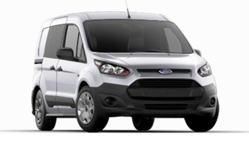 Ford Transit Connect Stock Image