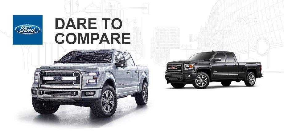 2015 Ford F150 vs 2015 GMC Sierra 1500  Houston TX