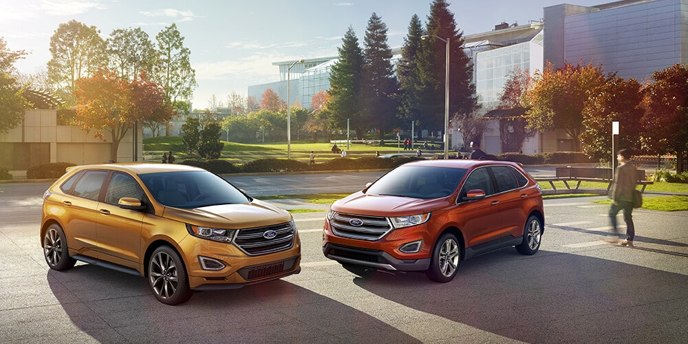 photo two 2015 ford edge suv models