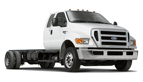 Ford F-750 Stock Image