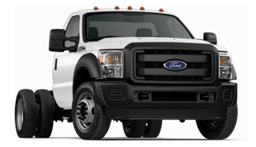 Ford F-450 Chassis Stock Image