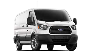 Ford Transit-350 Stock Image