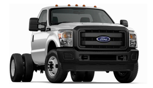 Ford F-350 Chassis Stock Image