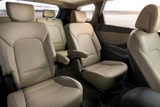 2014 Hyundai Santa Fe 3rd Row Seat