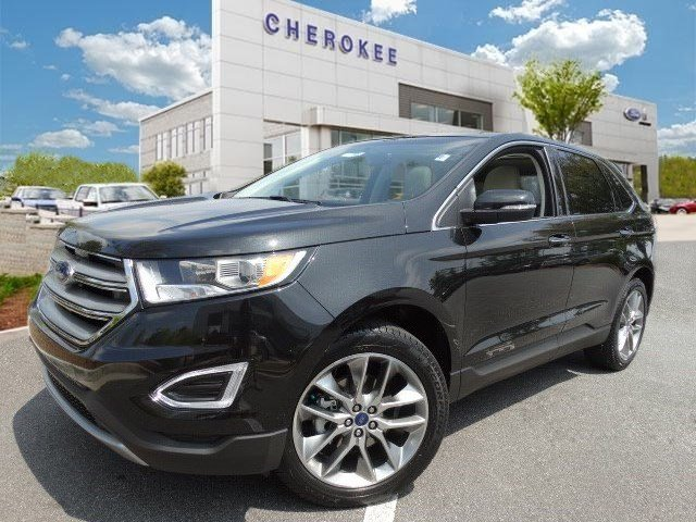 2015 Ford Edge Titanium Take command of the road in the 2015 Ford Edge This is a superb vehicle a