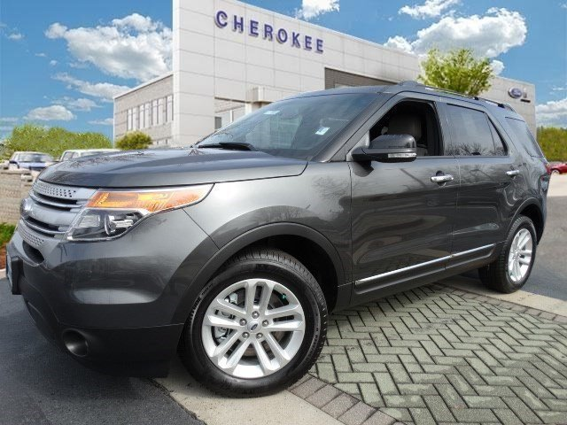 2015 Ford Explorer XLT NAVIGATION PKG Take command of the road in the 2015 Ford Explorer Generous