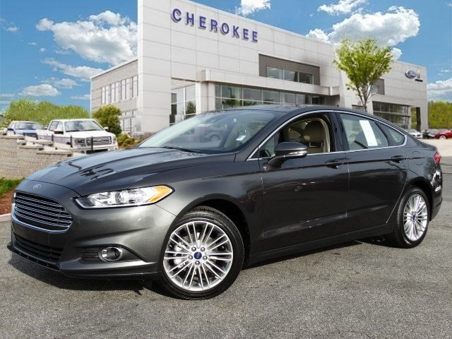 2015 Ford Fusion SE NAVIGATION LUXURY PKG Outstanding design defines the 2015 Ford Fusion A prac