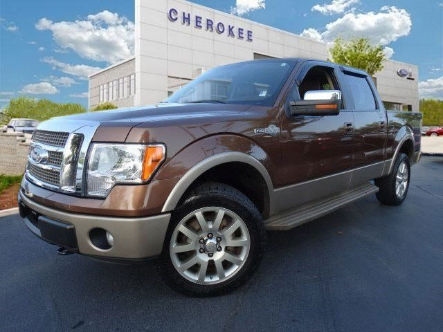 2011 Ford F-150 King Ranch Discerning drivers will appreciate the 2011 Ford F-150 Youll apprecia