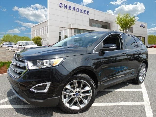 2015 Ford Edge Titanium Outstanding design defines the 2015 Ford Edge Offering an alluring bundle