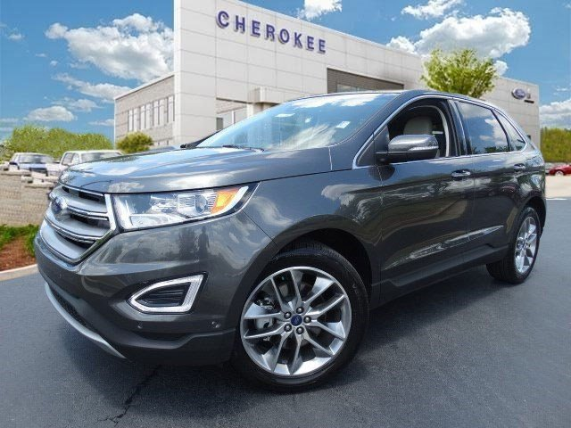 2015 Ford Edge Titanium Step into the 2015 Ford Edge Performance ride and head-turning good loo
