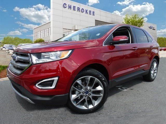 2015 Ford Edge Titanium Take command of the road in the 2015 Ford Edge Youll appreciate its safe