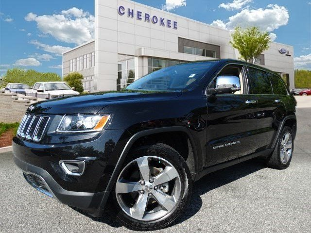 2014 Jeep Grand Cherokee Limited Take command of the road in the 2014 Jeep Grand Cherokee It just