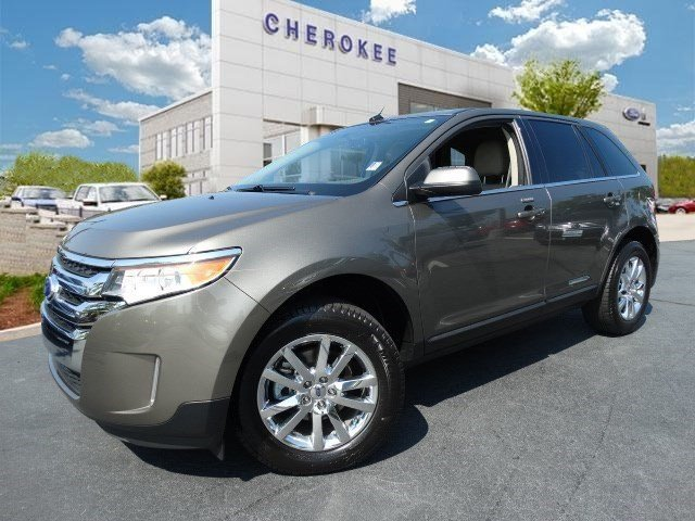 2014 Ford Edge Limited Introducing the 2014 Ford Edge This SUV combines world-recognized style an