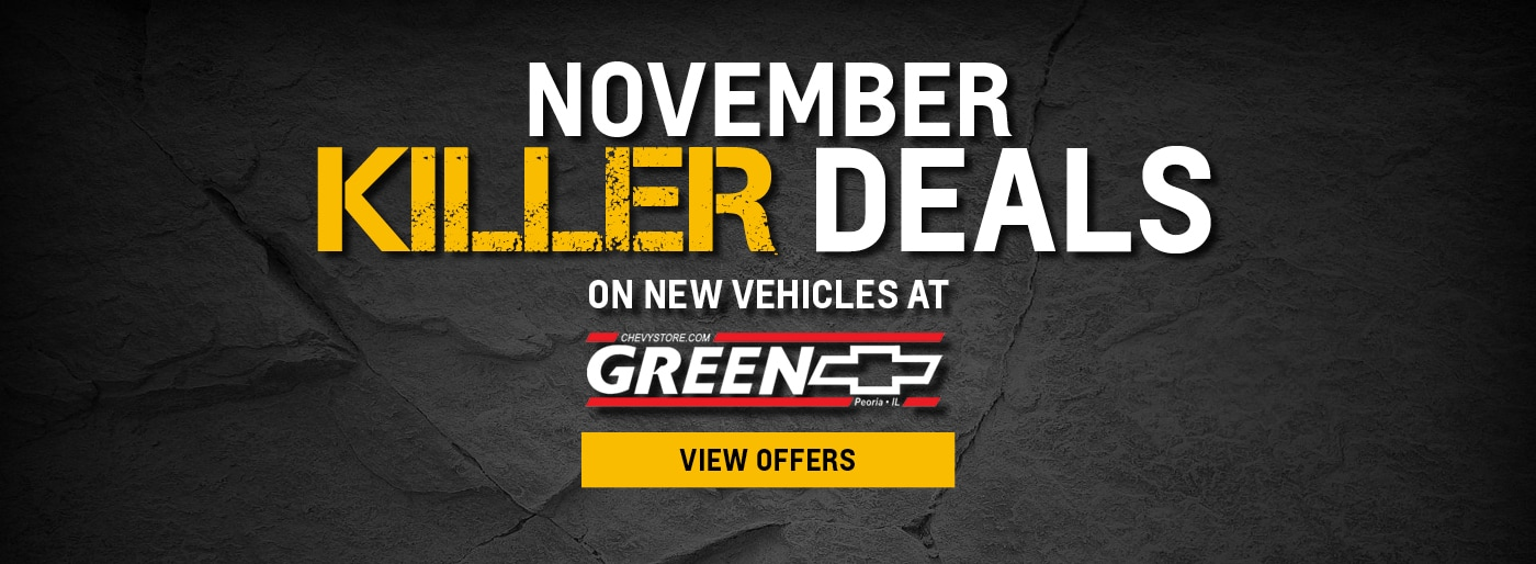 Green Chevrolet Peoria Il >> Green Chevrolet in Peoria | New & Used Car Dealership ...