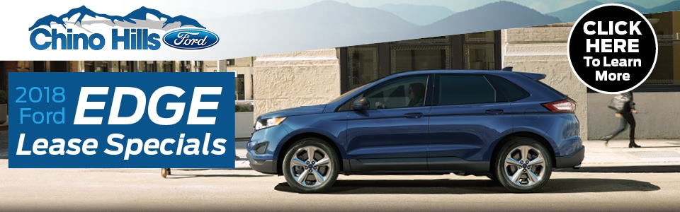 Ford Edge Lease Deals In Chino Ca