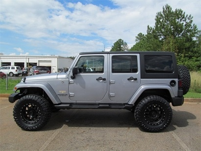 Custom Lifted Jeep Wranglers In Cartersville Ga