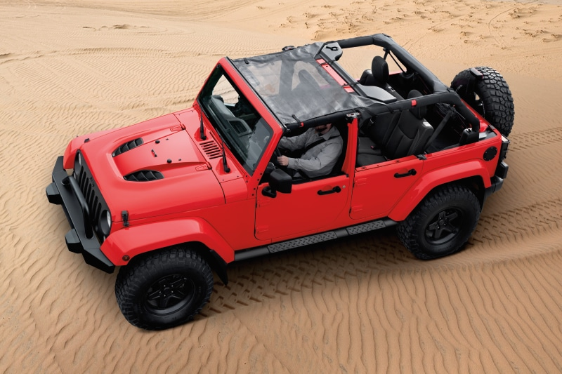 Jeep Wrangler Unlimited Beach