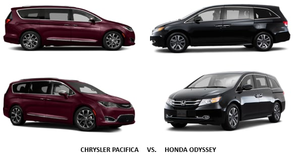 Honda odyssey vs chrysler pacifica lakeland jim browne for Chrysler pacifica vs honda odyssey