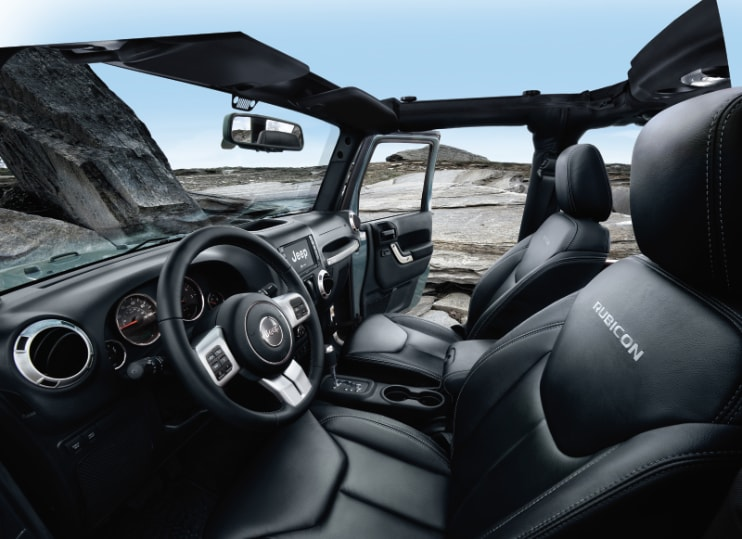 Jeep Wrangler Unlimited Interior