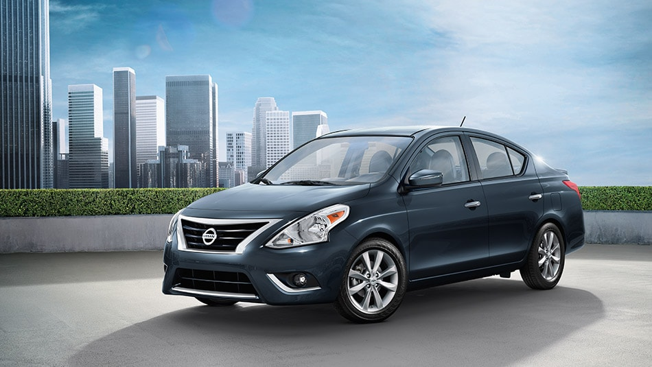 The major items you may notice on the exterior of 2017 Nissan Versa ...