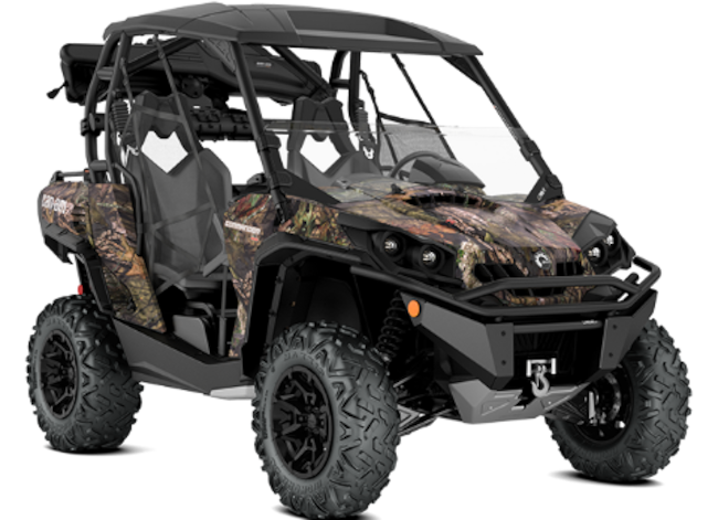 2018 CAN-AM Commander 1000 Hunting Edition
