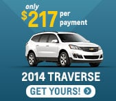 2014 Chevy Traverse