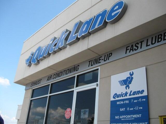 Quick Lane Ford Service Center Near Little Rock Ar