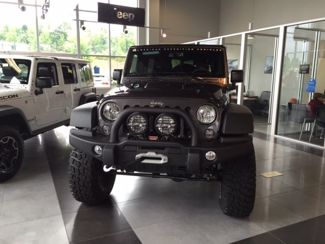 custom AEV Jeep Wrangler Rubicon near Memphis