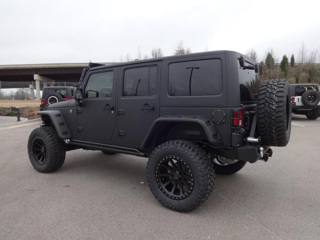 custom full kevlar jeep wrangler unlimited sport collierville jeep. Black Bedroom Furniture Sets. Home Design Ideas