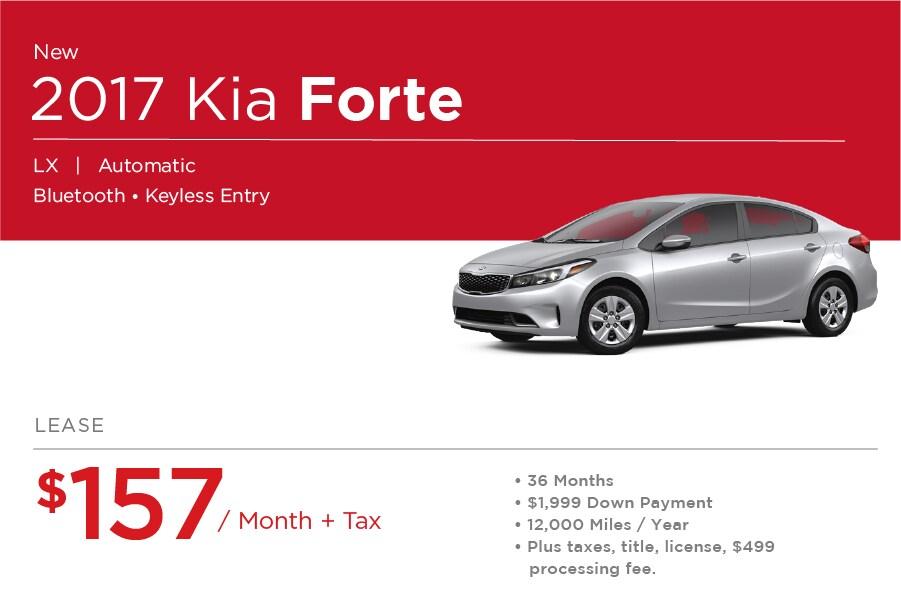 Kia Forte Special Offer