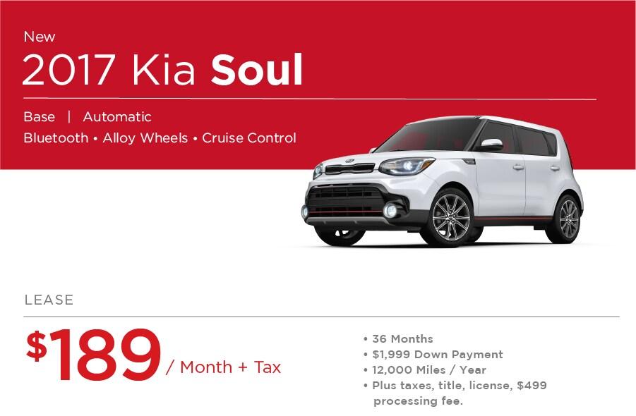 Kia Soul Special Offer