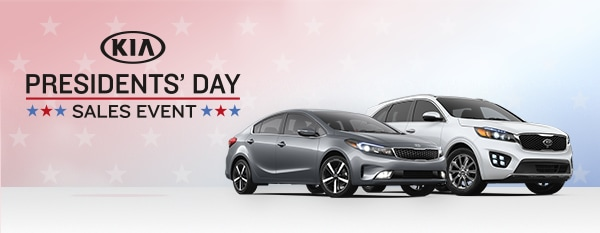 Presidents' Day Sales Event at Colonial Kia