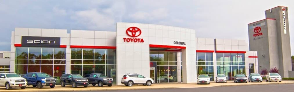 Colonial Toyota, greater Providence dealership